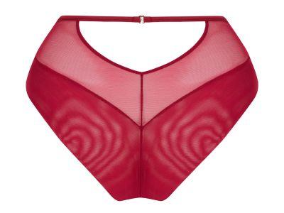 Scantilly by Curvy Kate Fallen Angel High Waist -alushousut Garnet Red  36-50 ST-012-208-GAT