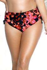 Fidzi Ruched Side-bikinihousut Floral