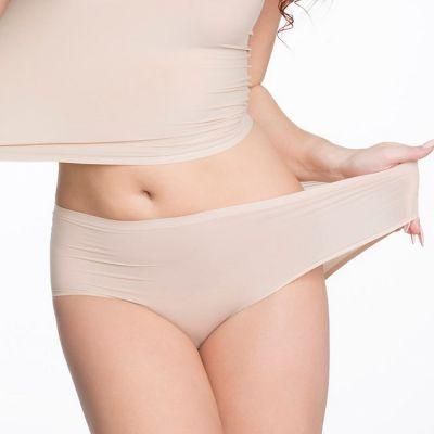 Julimex Lingerie Flexi One Maxi Panty -alushousut beige  One size / S-2XL FLEXI-MAXI-BEZ