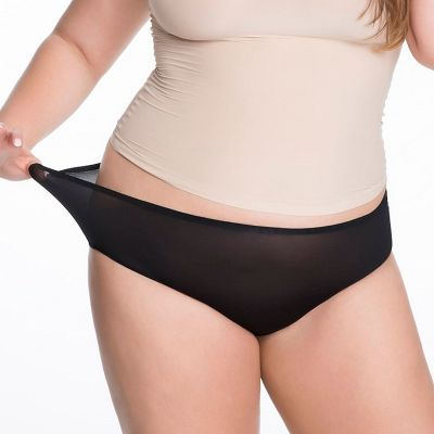 Julimex Lingerie Flexi One Maxi Panty -alushousut musta  One size / S-2XL FLEXI-MAXI-CZA