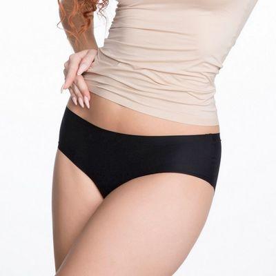 Julimex Lingerie Flexi One Midi Panty -alushousut musta  One size / XS-XL FLEXI-MIDI-CZA