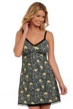 Floral Bonanza chemise musta (ENNAKKOTILAUS 21.10.)