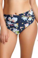 Florentine Midi -bikinihousut Navy Floral