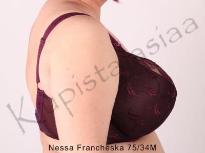 Francheska-rintaliivit purppura