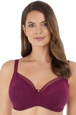 Fusion Soft Side Support -rintaliivit Black Cherry