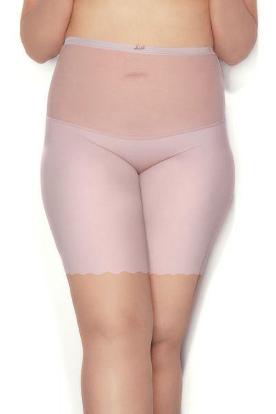 Mitex Pure Glam Form Low lahkeelliset alushousut vaaleanpunainen Kevyesti siloittavat korkeavyötäröiset lahkeelliset alushousut M-5XL PGFL-PNK