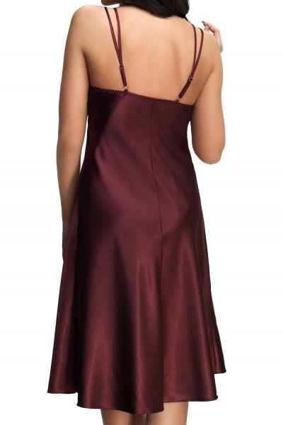 Gloria Queen -camisole tummanpunainen