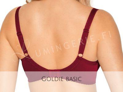 Gaia Lingerie Goldie Semi Soft -rintaliivit Rumba Red Kaarituettu, puolitopattu 70-105, D-L BS-899-BOR