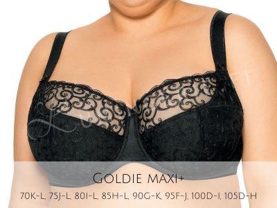 Goldie Semi Soft -rintaliivit musta
