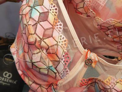 Gorsenia Rainbow Soft -rintaliivit Multicolor  Kaarituettu, toppaamaton 70-95, D-K K558