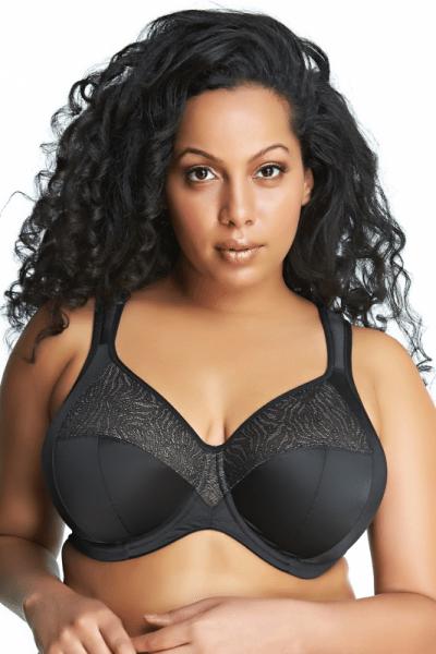 Heather-rintaliivit musta