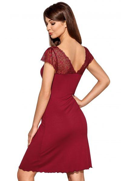 Helen-yöpaita burgundinpunainen