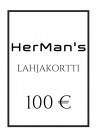 HerMan's Lahjakortti 100 €-thumb