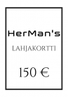 HerMan's Lahjakortti 150 €-thumb