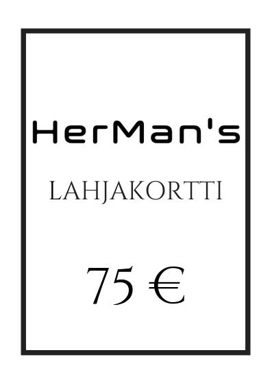 HerMan's Lahjakortti 75 €