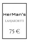 HerMan's Lahjakortti 75 €-thumb
