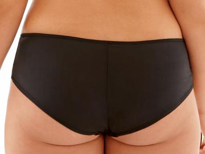 Hettie-alushousut musta-pinkki
