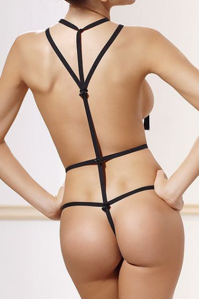 Anaïs Inez Body Harness musta