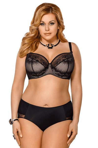 Inga puolitopatut rintaliivit musta