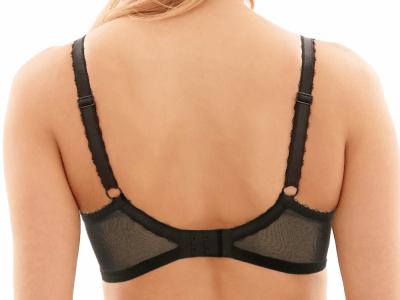 Jasmine Soft Balconnet -rintaliivit musta