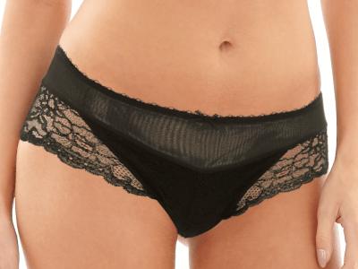 Jasmine-alushousut musta