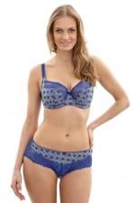 Jasmine-rintaliivit sininen mosaiikki