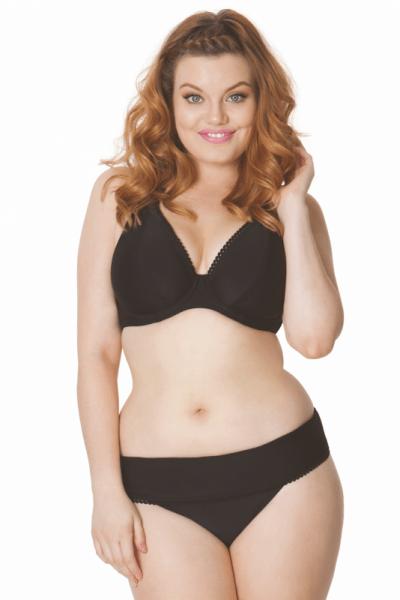 Jetty-halterneck-bikiniliivit musta