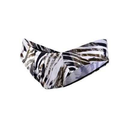 Shining Mini Cheek brief leopardi JS22