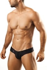 Shining Mini Cheek brief musta JS22