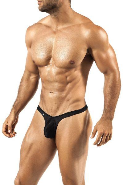 Joe Snyder Pride Frame Neon -stringit musta PF03 Stringit 80% Nylon, 20% Spandex<br> S-XL PF03_Neon_black