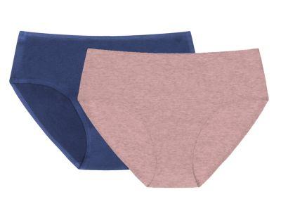 Cotton Classic -alushousut Duo Pack roosa & farkku
