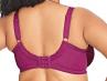 Keira-rintaliivit kaarituetut luumunpunainen-thumb