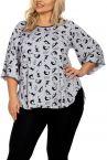 Hamana Kitty 2-osainen pyjamasetti / oloasu harmaa-musta-thumb 2 osainen pyjama/oloasu S-5XL
