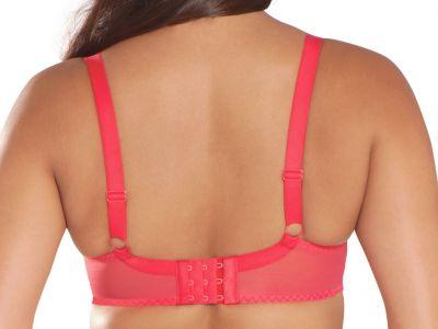Lifestyle syväänuurretut rintaliivit punainen