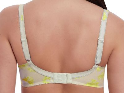 Lime Light Plunge -rintaliivit harmaa-lime