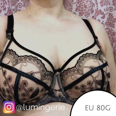 Gorsenia Morisson Soft Side Support -rintaliivit musta-beige Kaarituettu, toppaamaton 65-110, D-M K630-CZA/BEZ