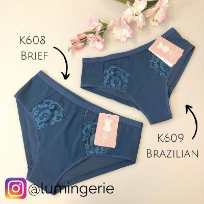 Gorsenia Pasadena-brazilian Saphire Blue  S/36 - 2XL/44 K609