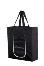 Lumingerie-ostoskassi musta
