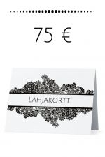 Lahjakortti 75 €