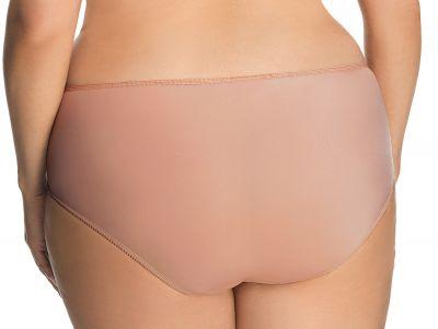 Gorsenia Magic Rose -alushousut beige-kupari Alushousut normaalikorkealla vyötäröllä M/38 - 3XL/46 K552