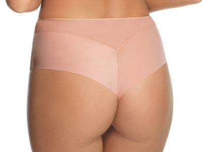 Gorsenia Magic Rose -brazilian beige-kupari Brazilian-malliset housut, jotka ovat peittävyydeltään perusmidihousujen ja stringien väliltä. S/36 - 2XL/44 K553