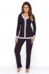 Marcjanna-pyjama 2-osainen luumu-thumb