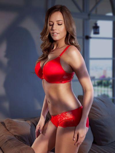 Marion-t-paitarintaliivit punainen
