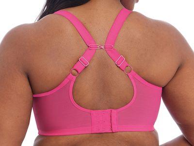 Elomi Matilda UW Plunge -rintaliivit Pink Kiss Kaarituettu, kokokuppinen ja toppaamaton plunge-liivi 70-100, E-O EL8900-PKS