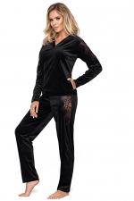 Mia 2-osainen pyjamasetti / oloasu musta