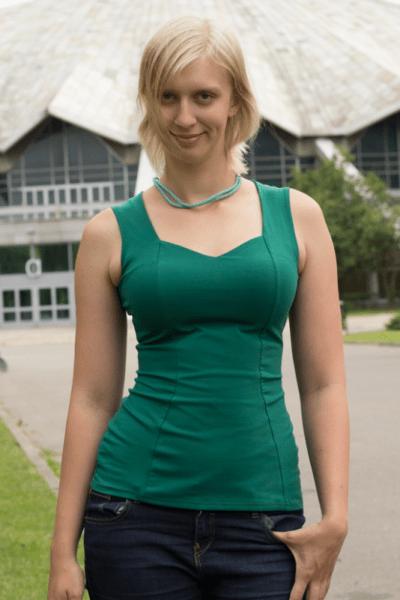 Mikra-toppi vihreä