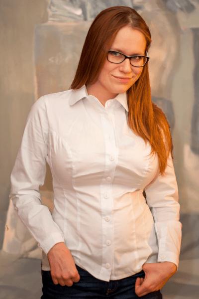 Minimal pitkähihainen paitapusero valkoinen