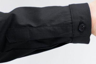 Urkye Minimal pitkähihainen paitapusero musta Muotoonommeltu ja vartalonmyötäinen pitkähihainen paitapusero 36-46 1/2 ja 2/3 KO-006-CZA-2021