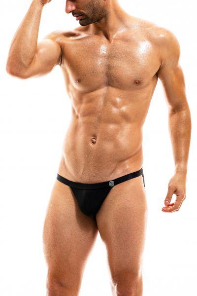Modus Vivendi Bodybuilding tanga brief uimahousut musta Tanga brief 80% Polyamidi, 20% Elastaani S-XL BS1912