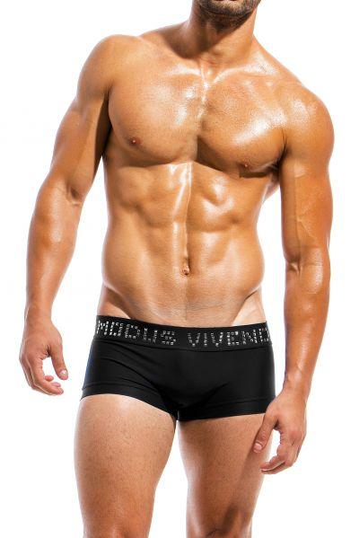 Modus Vivendi Brand boxer uimahousut musta Bokserit 80% Polyamidi, 20% Elastaani S-XL BS1821